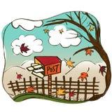 Garden vector Stock Image