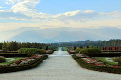Garden Venaria Reale Palace in Torino ITALY Royalty Free Stock Photography