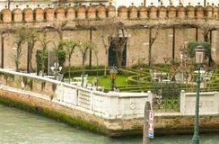 Garden in Venice Stock Images