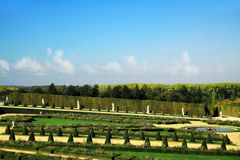 Garden of Versailles Royalty Free Stock Photography