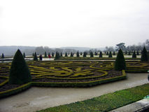 Garden in Versailles. An incredible garden at the Palace of Versailles Royalty Free Stock Image