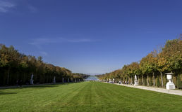Garden of Versailles Palace Royalty Free Stock Photos