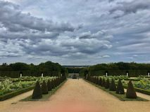 The Garden of Versailles Palace, Paris royalty free stock images