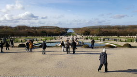 Garden Versailles Paris Royalty Free Stock Photography