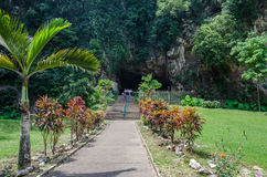 Garden view of the Kek Lok Tong which is located at Gunung Rapat in the south of Ipoh. Ipoh,Malaysia - July 16,2015 : Garden view of the Kek Lok Tong which is Stock Photo
