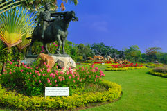 Garden View in Muang Boran, Thailand Royalty Free Stock Image