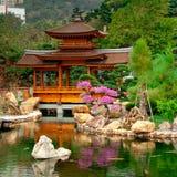 Garden view. One of the views at Nan Lian Garden. Hong Kong Stock Photography