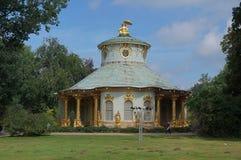 Garden view. Sanssouci gardens in Potsdam, Germany Stock Photo
