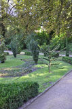 Garden view from Sanssouci in Potsdam,Germany Stock Photo