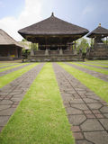 Garden view of a temple in Bali, Indonesia Stock Images