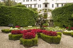 Garden of Villa Carlotta Royalty Free Stock Photos