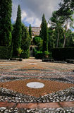 Garden of Villa d'Este, Italy Royalty Free Stock Photos