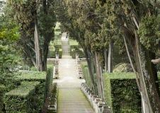 The garden of the Villa d`Este Royalty Free Stock Photography