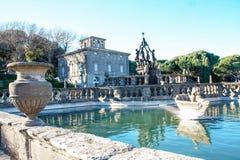 The garden of villa lante Royalty Free Stock Photos