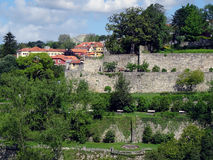 Garden Virtues Porto. View on the Jardim Das Virtudes (the Garden of Virtues) located in the center of Porto in Portugal. The terraced garden is open to the Royalty Free Stock Photos