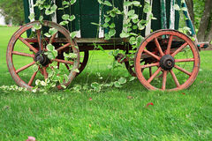 Garden Wagon Wheels Stock Images
