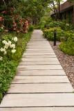 Garden walk Royalty Free Stock Image
