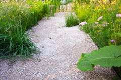 Garden walkway Royalty Free Stock Image