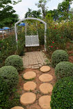 Garden Walkway Royalty Free Stock Photography