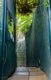 Garden walkway Royalty Free Stock Photos