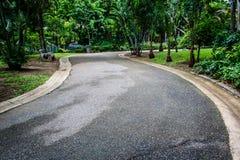 Garden Walkway. In the zoo, bangkok thailand Stock Images