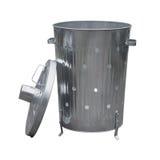Garden waste incinerator bin Royalty Free Stock Photography