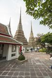 Wat Pho temple in Bangkok Stock Images