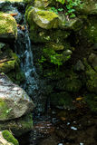 Garden Water Fall Royalty Free Stock Photography