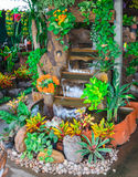 Garden water fountains stock images
