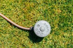 Garden Water Sprinkler Irrigation Stock Photos