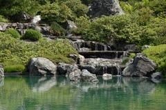 Garden Waterfall Stock Images