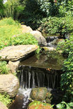 Garden waterfall Stock Photos
