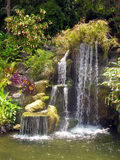 Garden Waterfall Stock Images