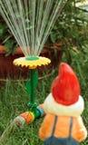 Garden watering Stock Images
