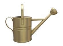 Garden watering can Royalty Free Stock Image