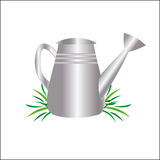 Garden watering can drawing Stock Photo