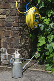 Garden watering equipment Royalty Free Stock Image