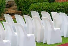 Garden wedding stock photo