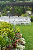 Garden Wedding Stock Photography