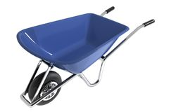 Garden wheelbarrow. Stock Image