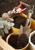 Garden work Royalty Free Stock Image