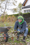 Garden work Stock Images