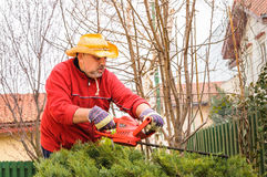 Garden work Royalty Free Stock Photography
