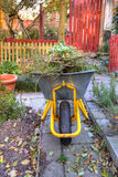 Garden work - wheelbarrow Royalty Free Stock Photo