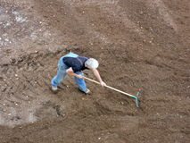 Garden worker Royalty Free Stock Images