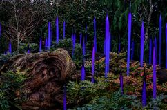 Garden1-Chihuly Gallery-Seattle 2016 Stock Images