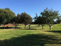 Gardena Park. View of gardena park in california Royalty Free Stock Photos