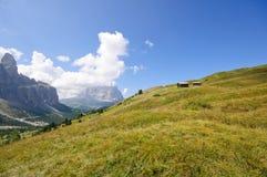 Gardena pass - Dolomites, Italy Royalty Free Stock Photos