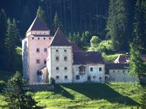 Gardena Schloss Stockbild
