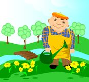 Gardener. Stock Photography